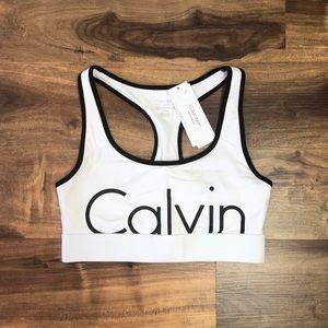 Calvin Klein Performance Racerback Sports Bra